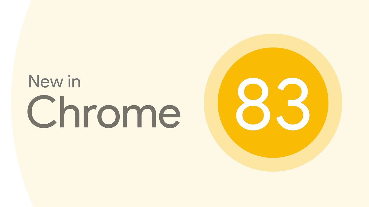 New in Chrome 83