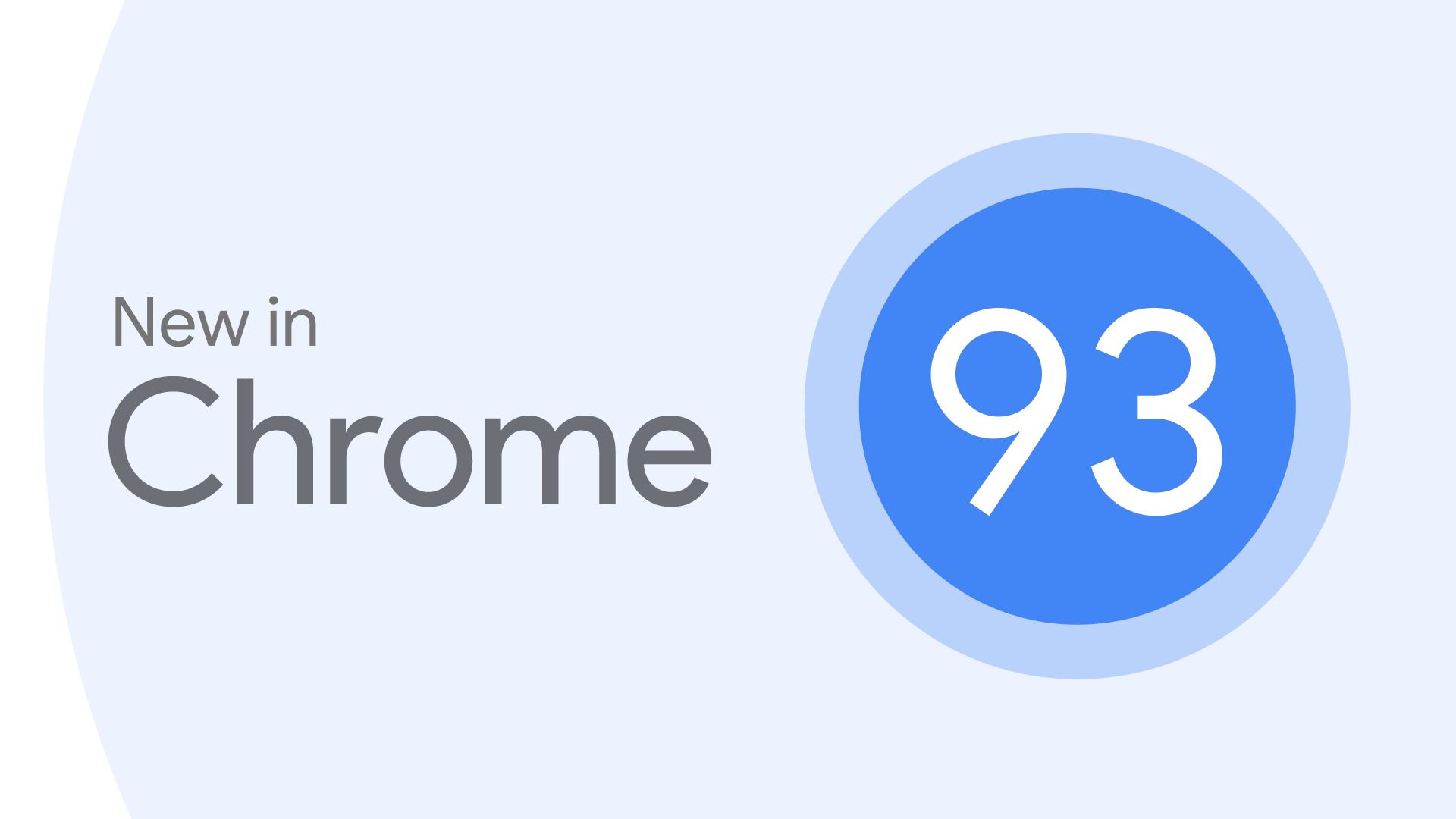 New in Chrome hero logo