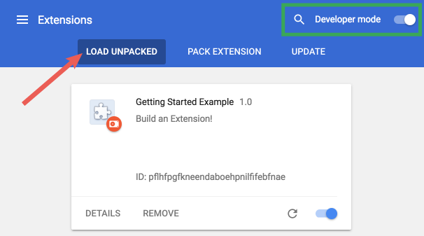 Load Extension