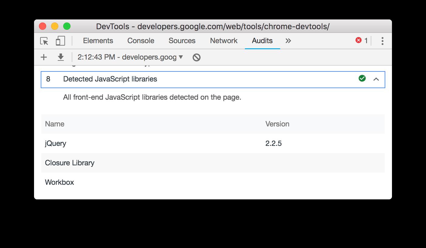 Detected JavaScript libraries