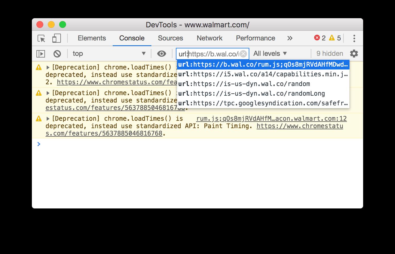 A URL filter.
