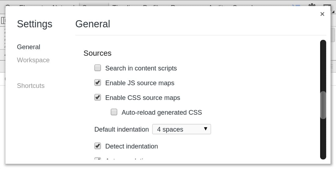 Enable Source Maps