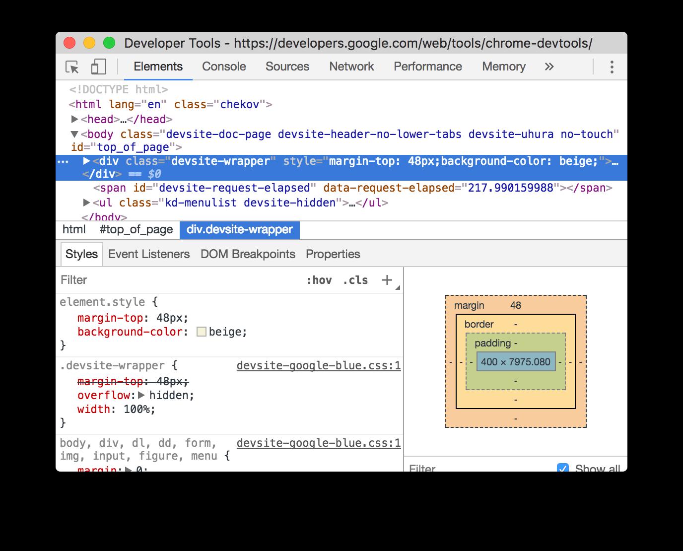 Adding inline declarations