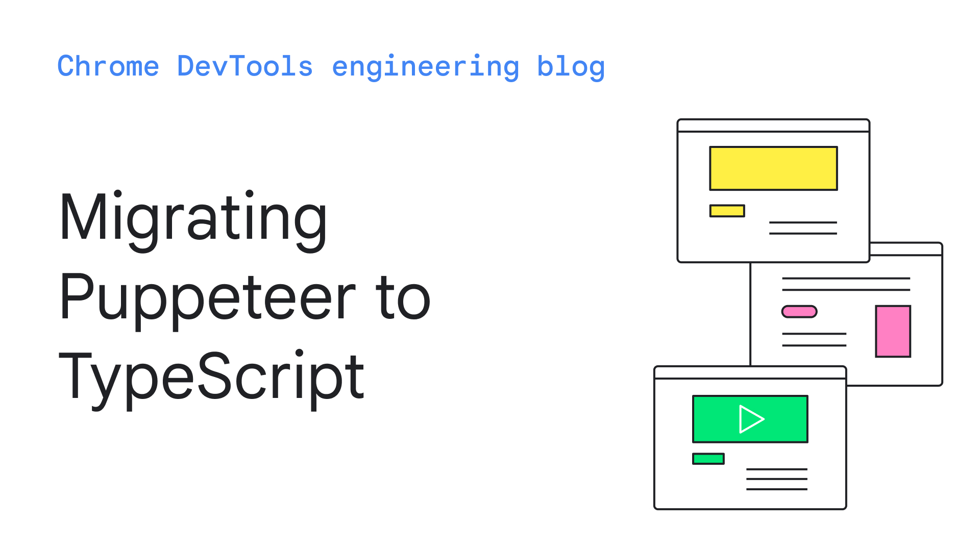 Migrating Puppeteer to TypeScript